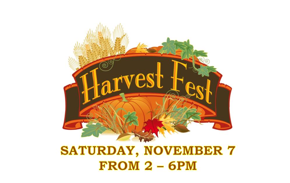 Harvest fest november 7 powells grove pentecostal church